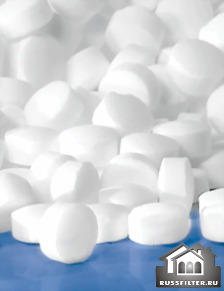 Соль таблетированная для фильтров умягчителей